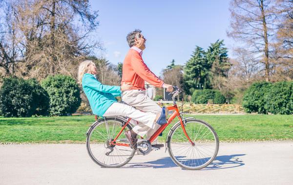 Когда я вижу взрослого человека на велосипеде, я спокоен за человечество!