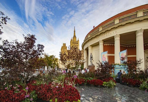 Сад Круг на Краснопресненской