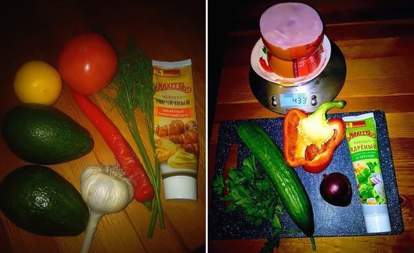 Заправьте ваш салат майонезом с добавками и превратите его в кулинарный шедевр. Фото LenKaPenKa