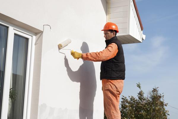 Резиновую краску можно использовать для фасадов