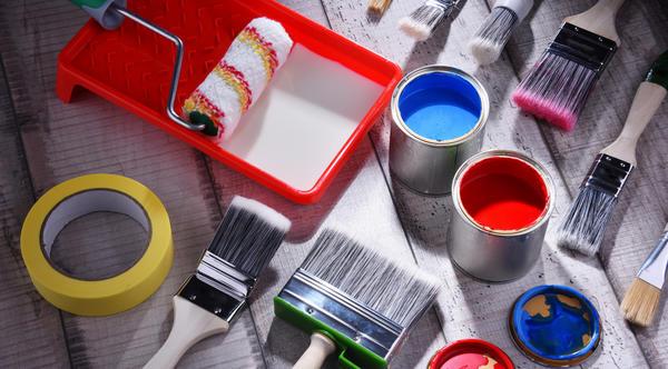 Вы знали, что надоевшую плитку можно перекрасить?