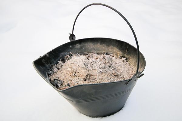 Из золы можно приготовить подкормку для рассады
