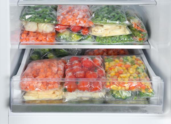 Заморозка - самый удобный способ заготовки овощей и фруктов