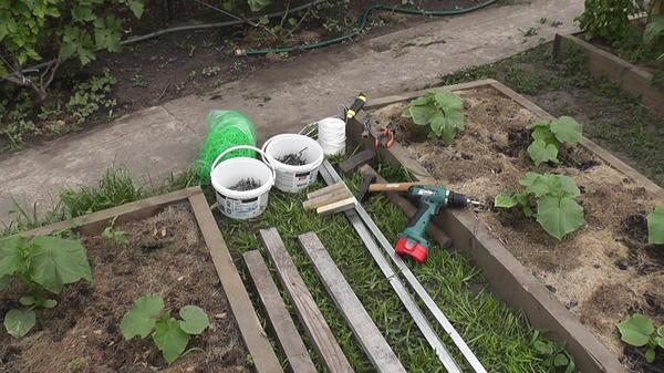 Инструменты для изготовления шпалеры