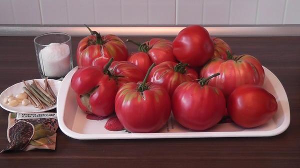 Крупные помидоры для заготовки