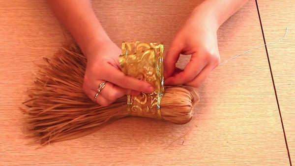 Сшиваем декоративную ленту
