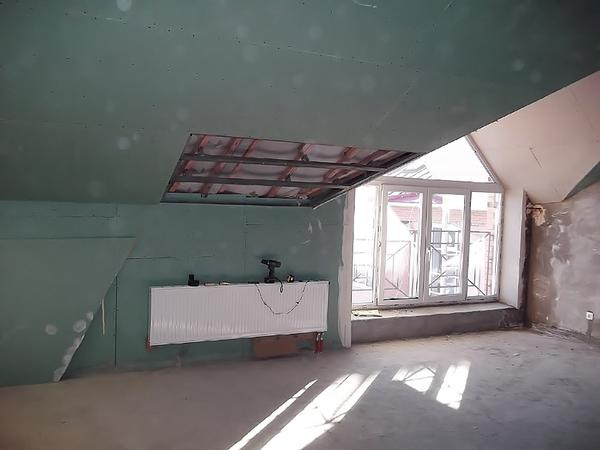 Квартира-студия до ремонта
