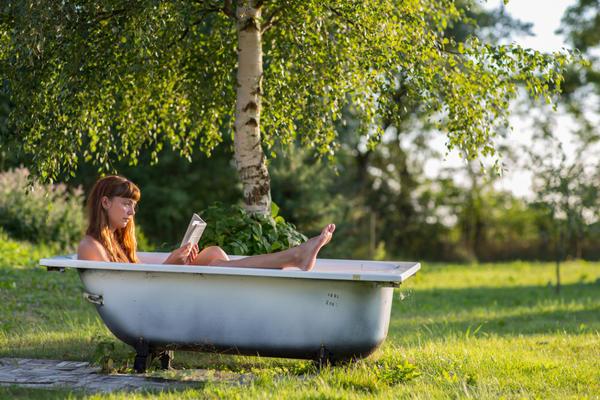 Хорошо понежиться в ванне