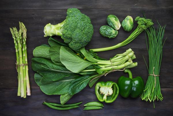 Выделите для зелёных продуктов один день