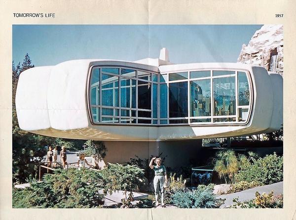Дом будущего Monsanto. Фото archiscene.net