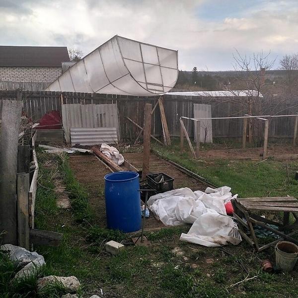 Последствия урагана. Фото с сайта pikabu.ru