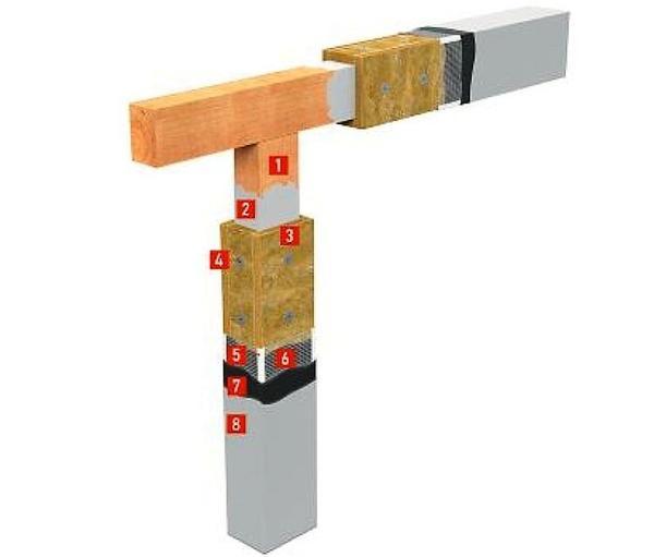 Конструктивное решение по увеличению предела огнестойкости деревянных конструкций с использованием плит CONLIT SL 150