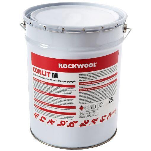 Для повышения огнестойкости применяют огнезащитную краску CONLIT M