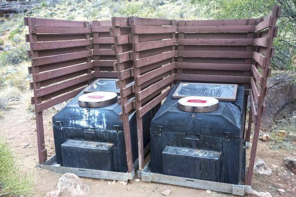 Пример компостирующего туалета