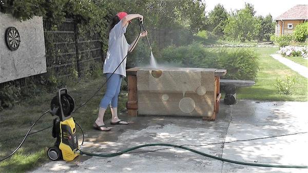 Особое удовольствие - получить абсолютно чистый ковёр