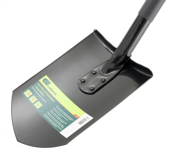 Лопата штыковая с заостренным клинком Ударник. Торговая марка Сибртех