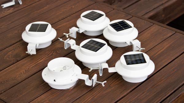 Светодиодные светильники были куплены на Aliexpress. Фото автора