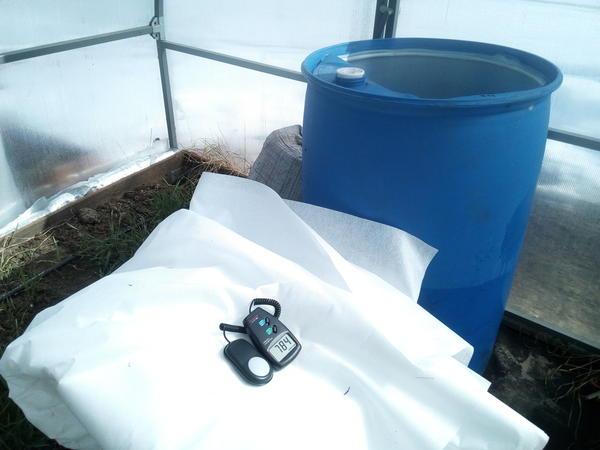 Бочки для полива растений должны быть всегда наполнены водой