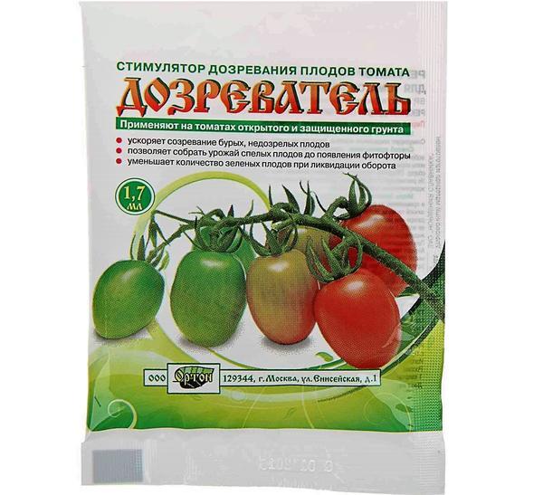 Дозреватель ускоряет созревание томатов. Фото с сайта stroybaza60.ru