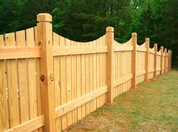 Забор из досок