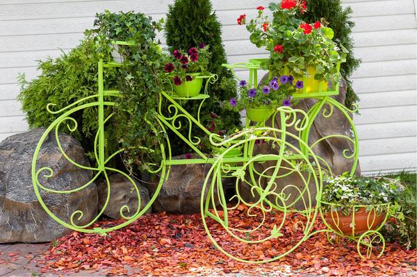 Цветочница - велосипед