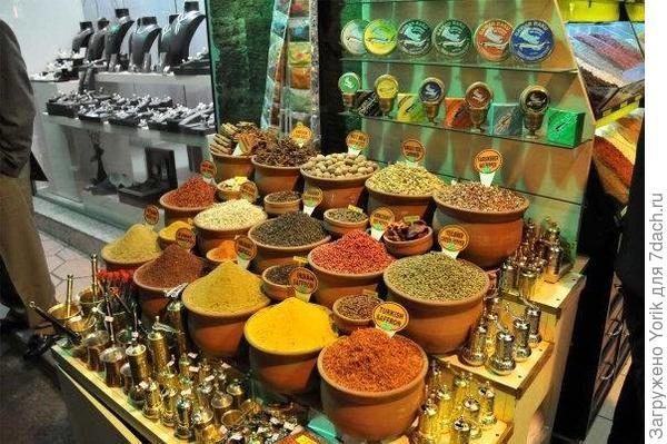 На любом рынке, аромат всегда должен привести к тому месту где продают специи