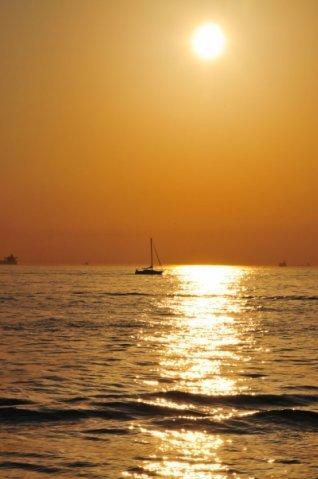 Закат на Мраморном море