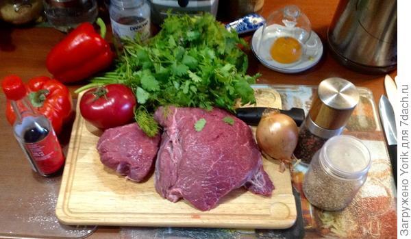 Мясо по-летнему