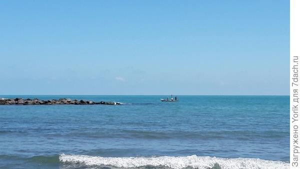 Типичный морской пейзаж.