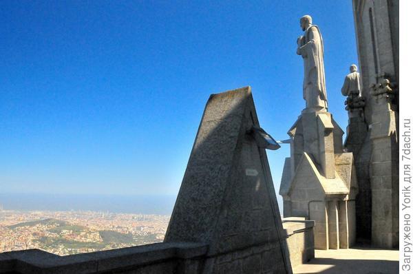 Именно отсюда открывается лучшая панорама Барселоны