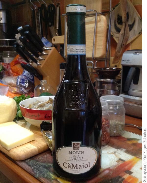 """Сегодня будет вино из Италии. Хорошее, без претензий, но """"добротное"""""""