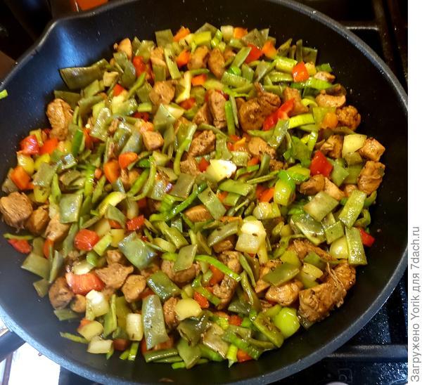 Июльский гювеч - пошаговый рецепт приготовления с фото