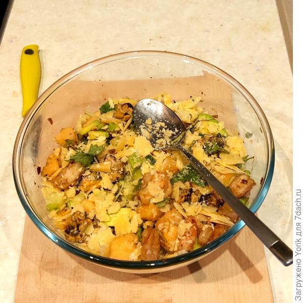 Просто салат - пошаговый рецепт приготовления с фото