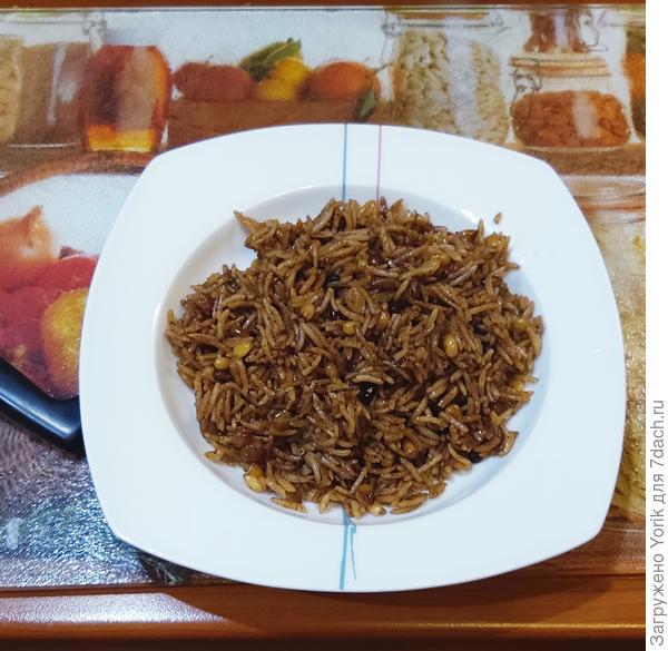 Ароматный рис с кедровыми орешками, шафраном и корицей. Пошаговый рецепт с фото