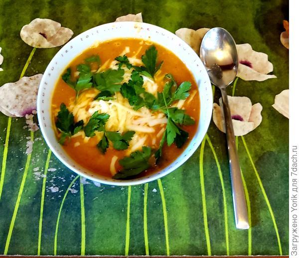 Чечевичный суп-пюре с овощами - пошаговый рецепт приготовления с фото