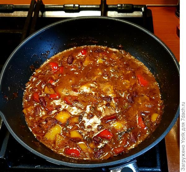 Чили (по мотивам рецепта от Джейми Оливера) - пошаговый рецепт приготовления с фото