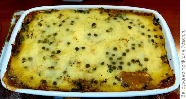 Картофельный пирог с рыбой (по мотивам рецепта Джейми Оливера) - пошаговый рецепт приготовления с фото
