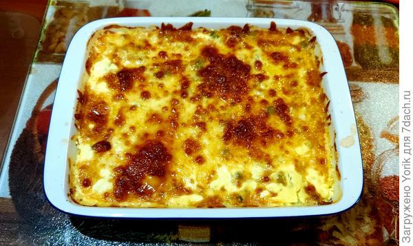 Блюдо из лангустинов с зеленым горошком в духовке. Пошаговый рецепт с фото