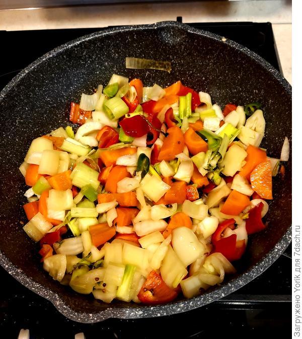 Баранина с овощами. Пошаговый рецепт с фото