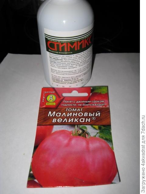 Семена томата Малиновый великан