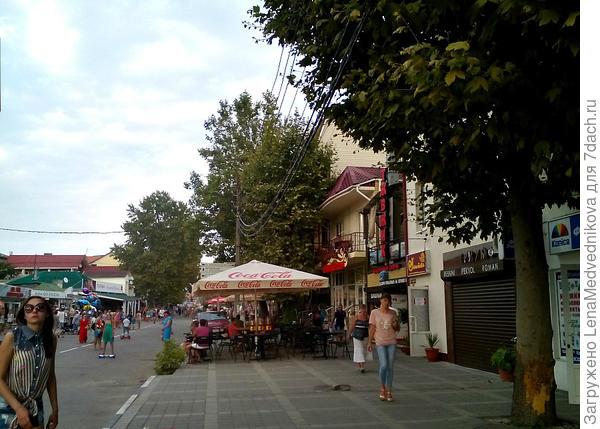 На улицах Анапы