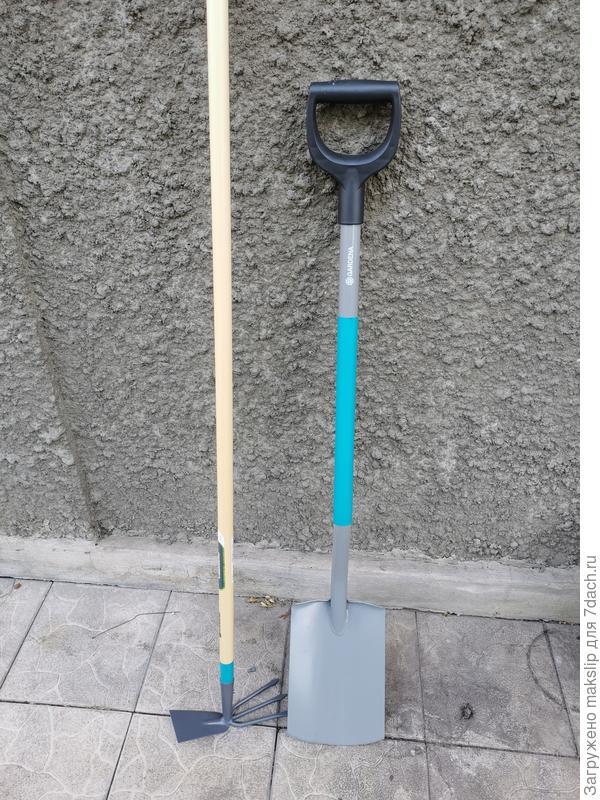 Лопата и тяпка