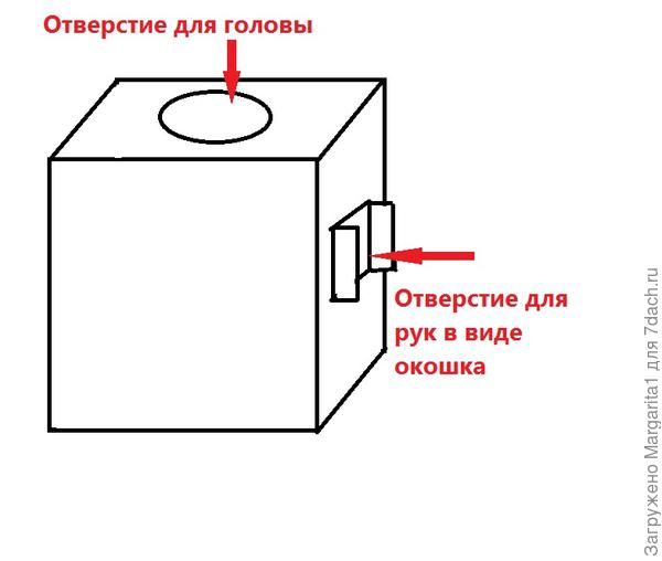Вырезаем у коробки одну стенку и заклеиваем обоями по боковым стенкам