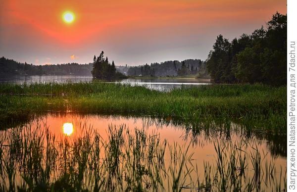 Летнее солнцестояние - самая короткая ночь в году