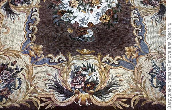 Фрагмент пола с римской мозаикой. Фото с сайта http://www.kaminy.ru/