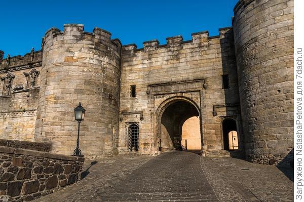 Замок Стерлинг в Шотландии