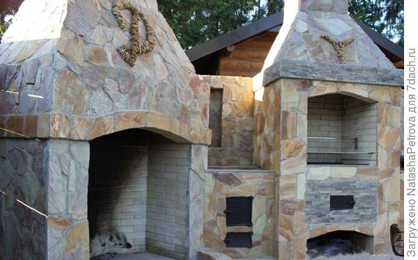Печной комплекс. Фото с сайта http://bbqstudio.ru/
