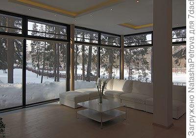 Вот еще: панорамное остекление в загородном доме. фото из интернета