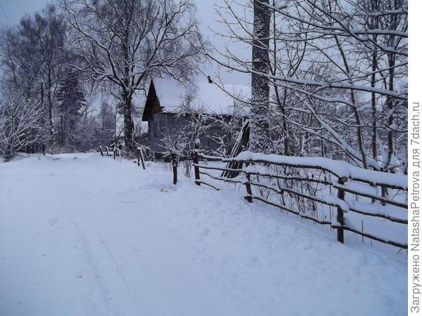 Наш дом. Зима