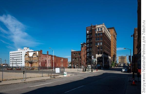 Центральные улицы Детройта сегодня. Фото с сайта varlamov.ru
